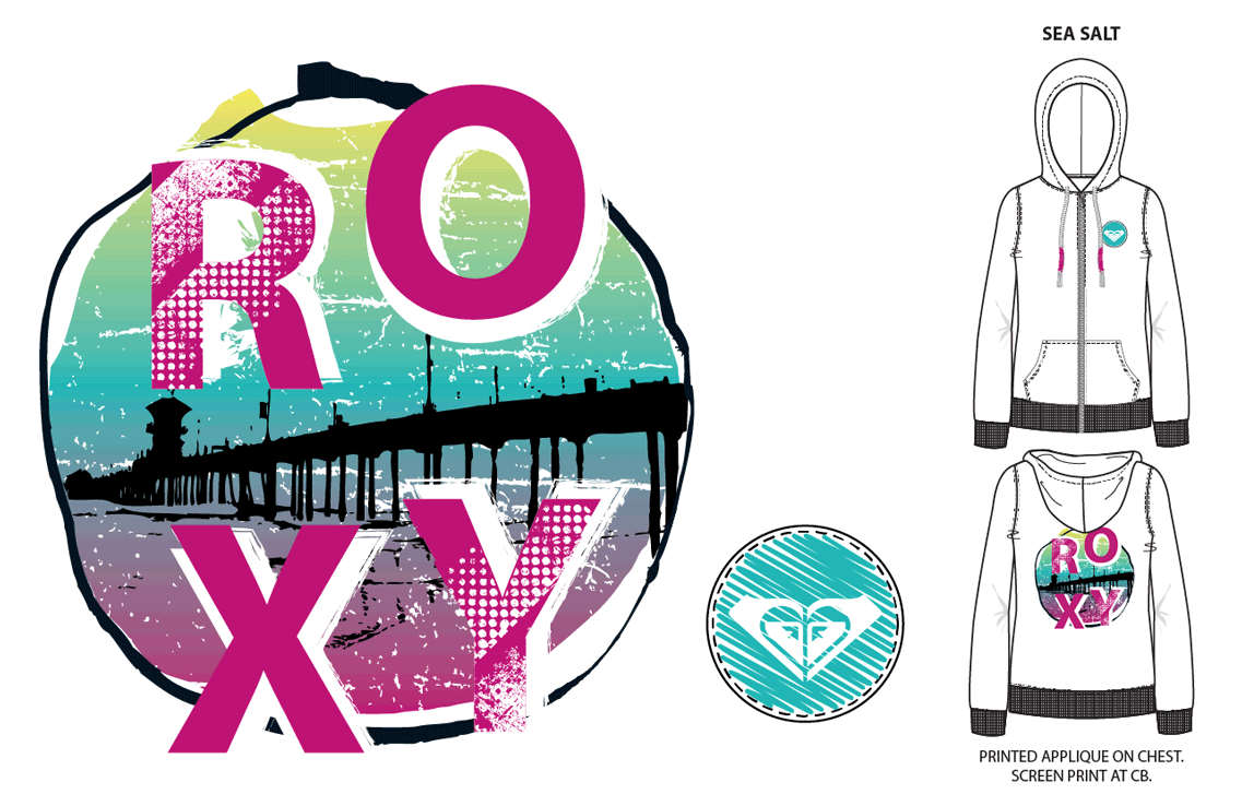 Updated Roxy Apparel Graphics I-4