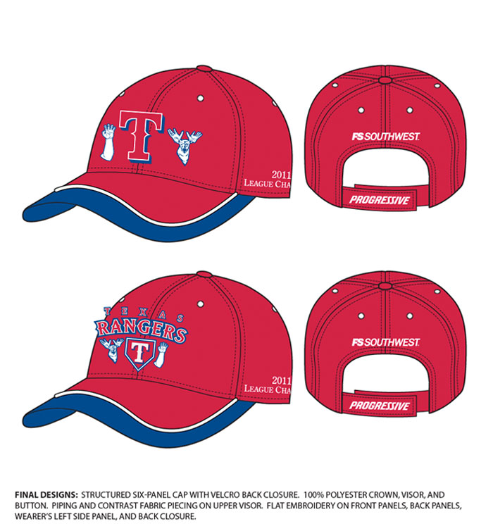 Texas Rangers League Champions 2011-1
