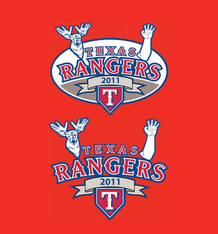 Texas Rangers League Champions 2011-3