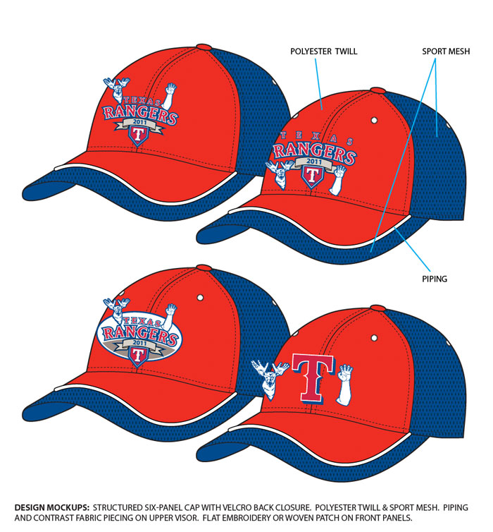 Texas Rangers League Champions 2011-0
