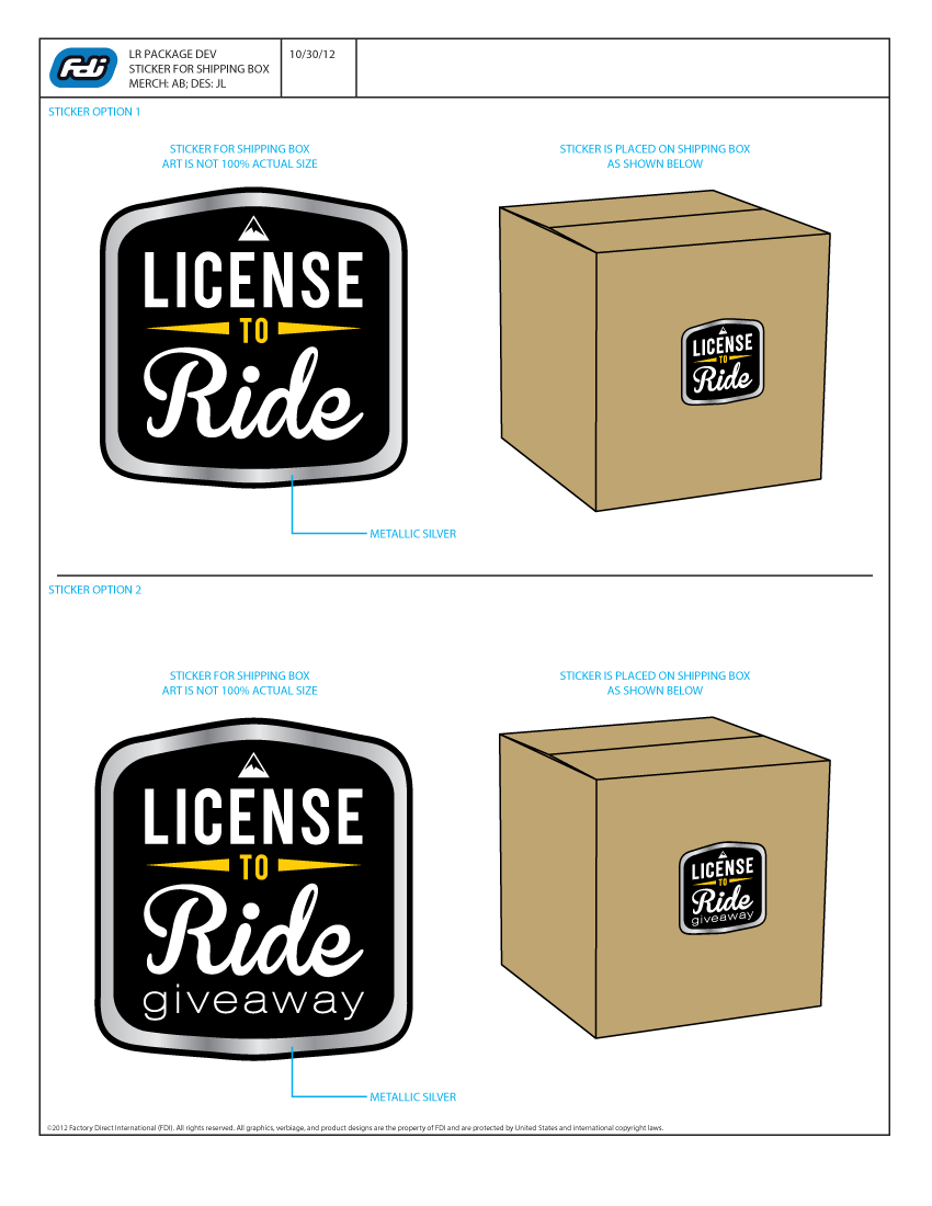 License 2 Ride Package Design-2